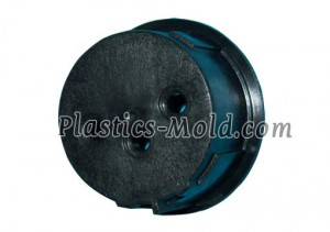 Molded plastic instrument case