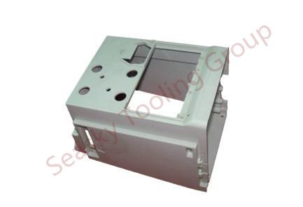 Molded plastic electronic enclosures