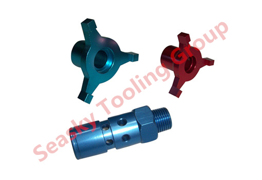 Aluminium machining parts