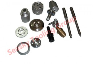 China metal turning parts machining