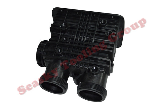 Custom plastic pipe fittings manufacturer in china