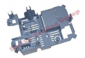 Custom plastic molded part