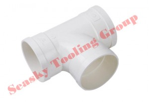 PVC plastic pipe connector