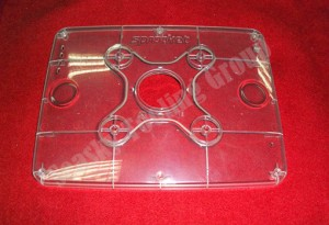 Clear plastic enclosures for electronics manufacturing